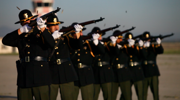 Honor Guard 21 salute