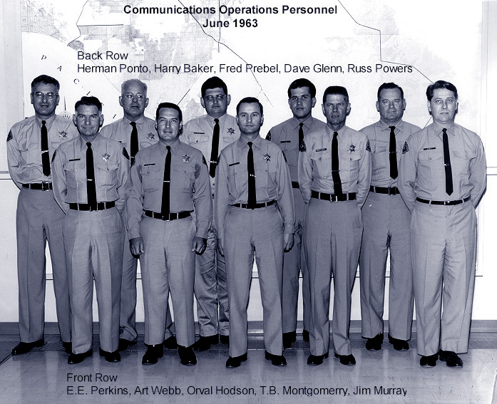 Communications Operations Personnel June 1963