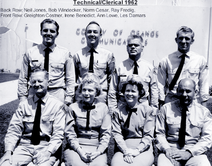 Technical / Clerical personnel 1962