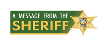 A Message from Sheriff Barnes